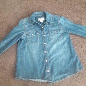 Forever 21 Jean blouse